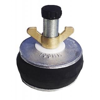 "A104 Aluminium plug 4"" (94-110mm.)"