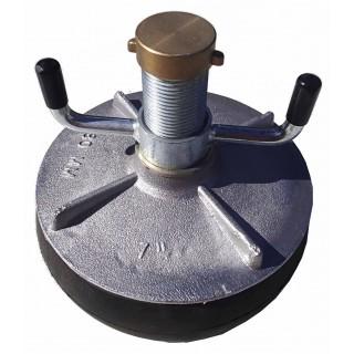 "A107 Aluminium plug 7"" (175-200mm)"