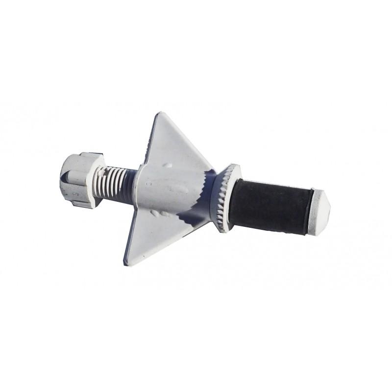 """N2005 Nylon plug 1/2"""" Hollow shaft small bore"""