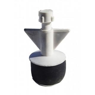 """N20125 Nylon plugg 1-1/4"""" med små hull"""