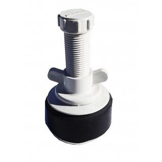 "N301 Nylon plug 2"" Hollow shaft large bore"